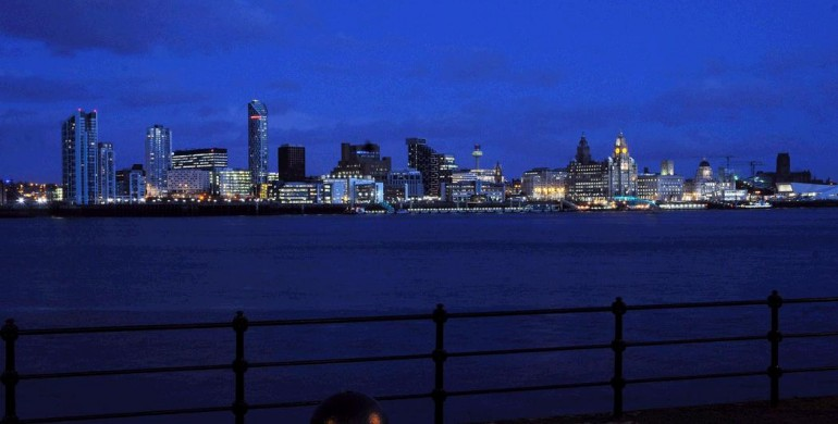 Liverpool's famous waterfront at