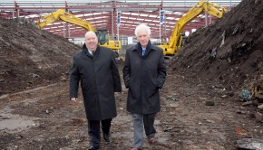 Edge Lane Retail Park revamp begins