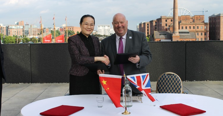 Liverpool renews Memorandum of Understanding with China