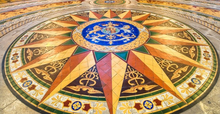 St Georges Hall Liverpool To Reveal Minton Floor 187 Tile