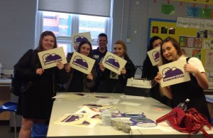 Pupils at Broadgreen International School find out more about the benefits of breast milk