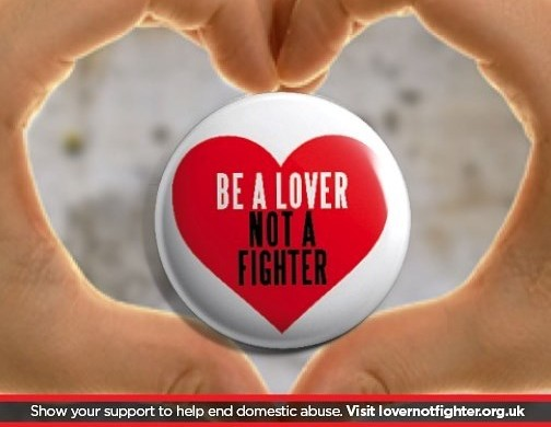 Nick Knowles backs 'Be a lover not a fighter campaign'