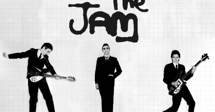 The Jam In the City LP cover image Paul Weller, Rick Buckler, Bruce Foxton
