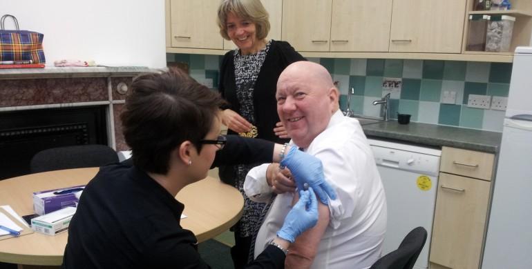 mayor of liverpool gets free nhs flu jab liverpool express
