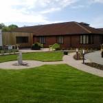 Sensory garden at Sedgemoor Dementia Centre