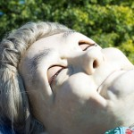 Grandmother giant asleep