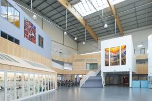 Interior of Archbishop Beck Catholic Sports College