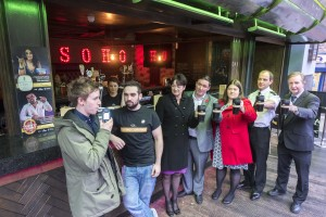 Say No To Drunks Campaign at The Soho Bar  in Concert Square Liverpool