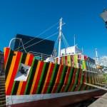 Dazzle Ship by Carlos Cruz-Diez, 2014 -¬ Mark McNulty [3]