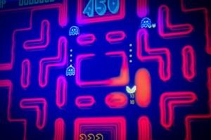 The Craft Mine Pacman Arcade Screen - Credit Samantha Brown