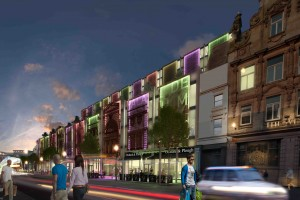 Proposed scheme for Lime Street
