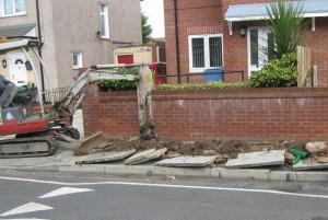 Silverwell Road work (2)