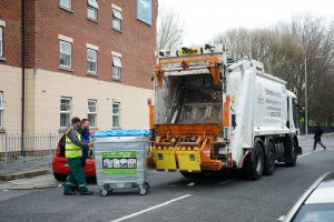 Recycling at Myrtle court 2