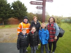 The visit to Dutch Farm